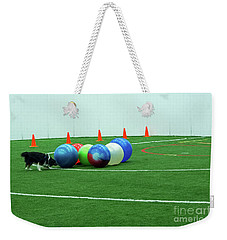 Weekender Tote Bag featuring the photograph Barb And Angie by Fred Stearns