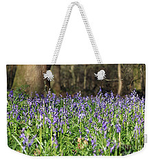 Bluebells At Banstead Wood Surrey Uk Weekender Tote Bag
