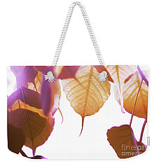Bodhi Leaves Weekender Tote Bag