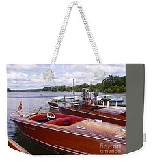 Chris Craft Custom Weekender Tote Bag