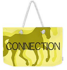 Connection Duet Weekender Tote Bag