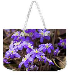 First Spring Flowers Weekender Tote Bag