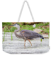Great Blue Heron Weekender Tote Bag