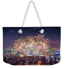 Happy New Year London Weekender Tote Bag