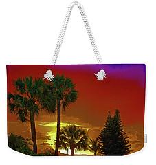 Weekender Tote Bag featuring the digital art 7- Holiday by Joseph Keane