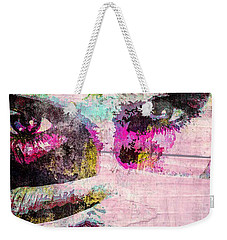 Ian Somerhalder Weekender Tote Bag by Svelby Art