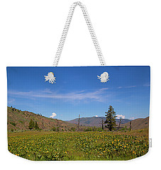 Weekender Tote Bag featuring the photograph Idaho Landscape by Dart Humeston