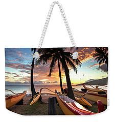 Kihei Canoes Weekender Tote Bag