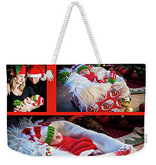 Merry Christmas Weekender Tote Bag by Ivete Basso Photography