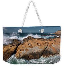 Point Lobos Concretions Weekender Tote Bag by Glenn Franco Simmons