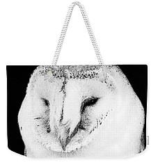 Portrait Of Bird Of Prey Weekender Tote Bag