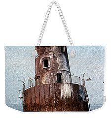 Sharps Island Lighthouse Weekender Tote Bag
