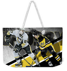 Sidney Crosby Weekender Tote Bag by Don Olea