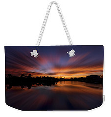 Sunrise At Naples, Florida Weekender Tote Bag by Peter Lakomy