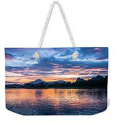 Sunrise Scenery In The Morning Weekender Tote Bag