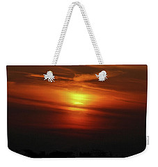 Weekender Tote Bag featuring the photograph 7- Sunset by Joseph Keane