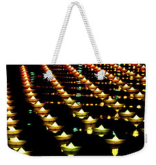 Weekender Tote Bag featuring the photograph The Colors Of The Voyage by Mark Dodd