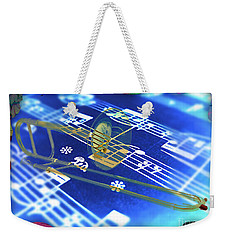 Trombone Collection Weekender Tote Bag
