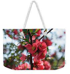 Tree Blossoms Weekender Tote Bag by Elvira Ladocki