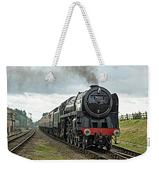 70013 Arriving At Quorn Weekender Tote Bag