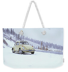 71 Vw Bug Weekender Tote Bag