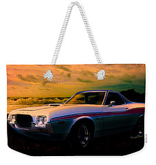 72 Ford Ranchero By The Sea Weekender Tote Bag