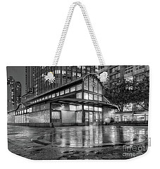 72nd Street Subway Station Bw Weekender Tote Bag