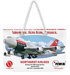 747 Weekender Tote Bag