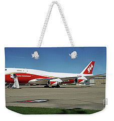 747 Supertanker Weekender Tote Bag