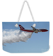 747 Supertanker Drop Weekender Tote Bag
