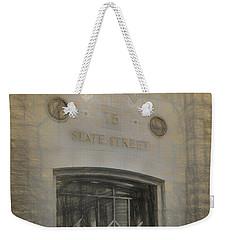 75 State Street Weekender Tote Bag