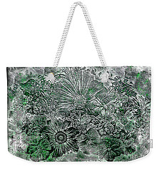 7a Abstract Floral Expressionism Digital Art Weekender Tote Bag