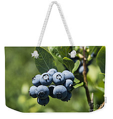 Blueberry Bush Weekender Tote Bag