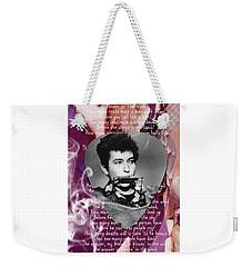 Bob Dylan Art Weekender Tote Bag