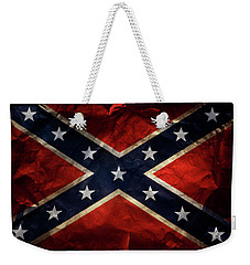 Confederate Flag 9 Weekender Tote Bag