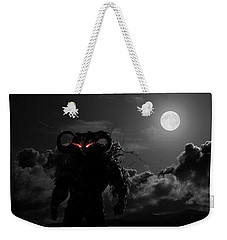 Demon Weekender Tote Bag