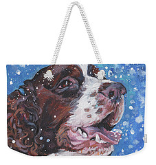 English Springer Spaniel Weekender Tote Bag