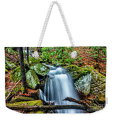 Weekender Tote Bag featuring the photograph Little Laurel Branch by Thomas R Fletcher