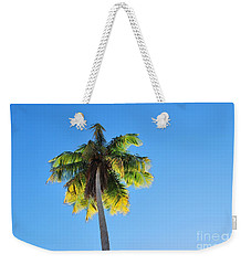 Weekender Tote Bag featuring the photograph Loyda's Point Of View by Reina Resto
