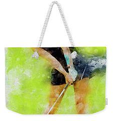 Michelle Wie Weekender Tote Bag