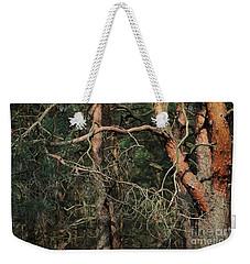 Pine Forest Weekender Tote Bag