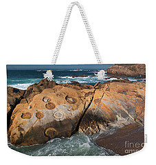 Point Lobos Concretions Weekender Tote Bag