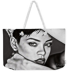 Rihanna Collection Weekender Tote Bag by Marvin Blaine