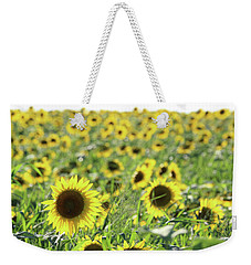 Sunflowers Mattituck New York Weekender Tote Bag