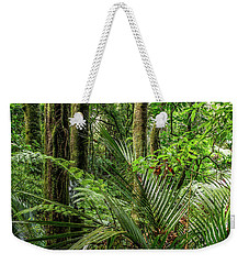Weekender Tote Bag featuring the photograph Tropical Jungle by Les Cunliffe