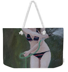 Water Fun Weekender Tote Bag