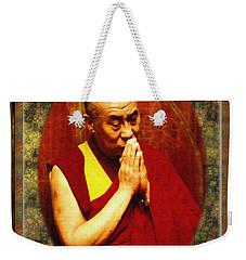 80 Years Of Contemplation Weekender Tote Bag