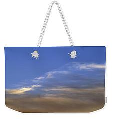 8.45.20 Pm Two  Weekender Tote Bag by Lyle Crump