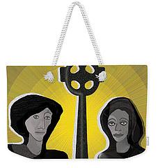 863 - Celtic Couple A Weekender Tote Bag