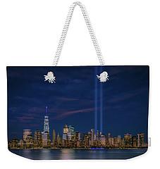 9/11 Memorial Weekender Tote Bag